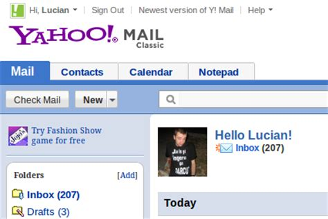 get old yahoo mail layout back how to go back to the old yahoo mail