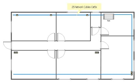 plan layout door local network physical topology floor plan conceptdraw