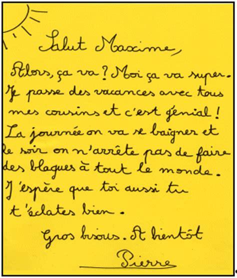 Exemple De Lettre De Amicale Exemple Lettre Amicale