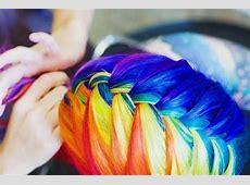 Rainbow hair Rainbow Hair Tumblr