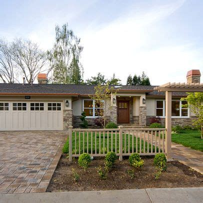pictures  updated exteriors   ranch style house