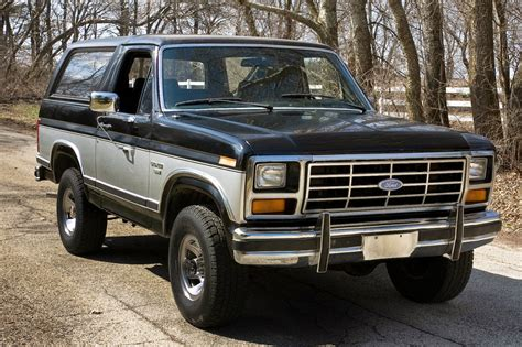 1983 Ford Bronco by All American Classic Cars 1983 Ford Bronco Xlt 4x4 2 Door Suv
