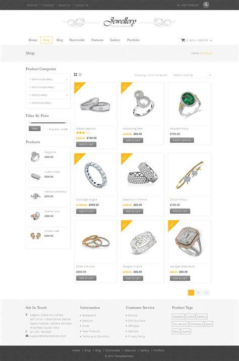 Themeforest Jewellery | jewellery woocommerce responsive theme by templatemela