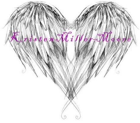 infinity tattoo with angel wings 25 best ideas about heart wings tattoo on pinterest