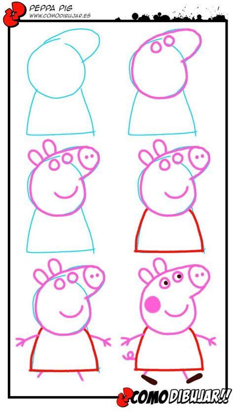 peppa pig drawing templates como dibujar peppa pig png 570 215 1 010 pixels peppa pig
