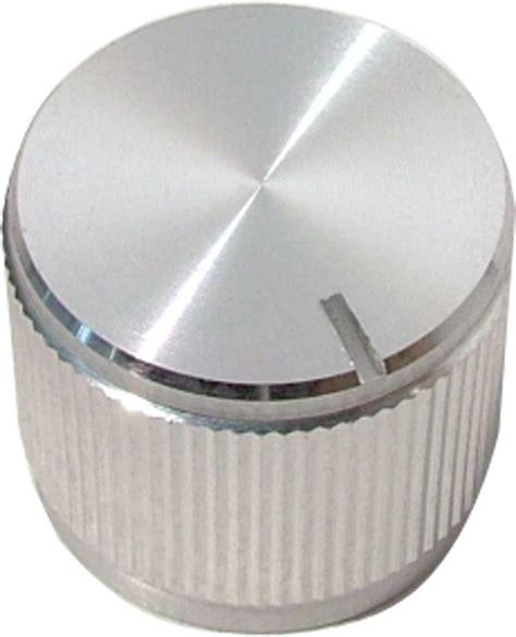 knob aluminum notched tip indicator push on 75