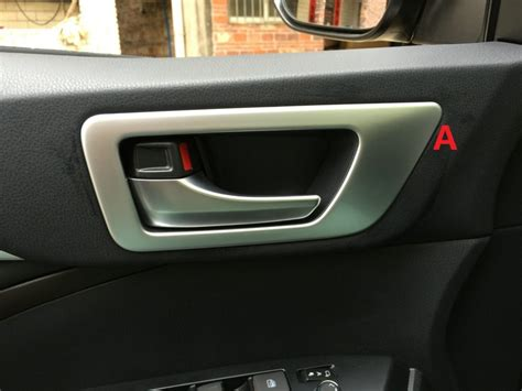 Car Interior Door Handle by Auto Interior Accessories Car Inner Door Handle Trim Sticker For Toyota Highlander 2015 Abs