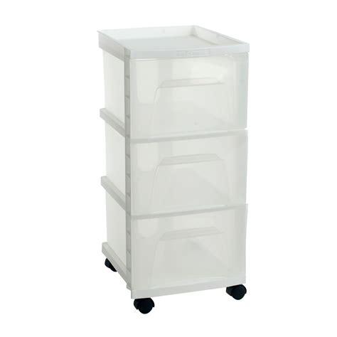 small plastic drawers kmart homz 3 drawer medium white cart home storage