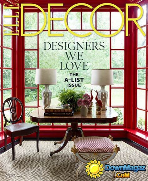 home decor magazines usa elle decor usa june 2016 187 download pdf magazines