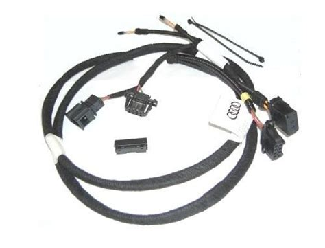 audi audio accessories 4l0051592a harness for connecting external audio devices