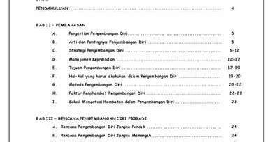 contoh membuat daftar isi suatu makalah contoh kata pengantar yang simple j k a t l v
