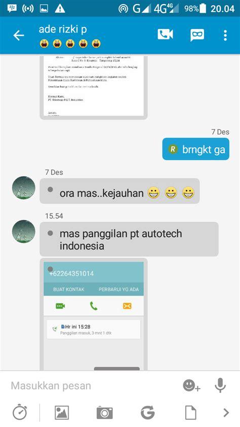 email pt pt autotech indonesia kawasan indutri bukit indah