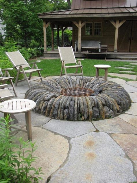 outdoor feuerstelle inspiration for backyard pit designs decor around