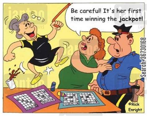 bingo winner cartoons humor from jantoo cartoons