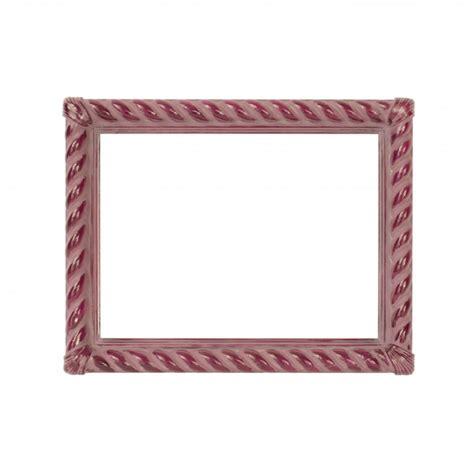 cornice decorata cornice decorata a tortiglioni rosa e bordeaux cornici
