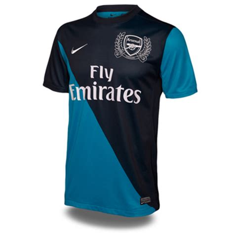 Jersey Arsenal Gk Home 11 12 official new arsenal away kit 11 12 blue football kit news new soccer jerseys