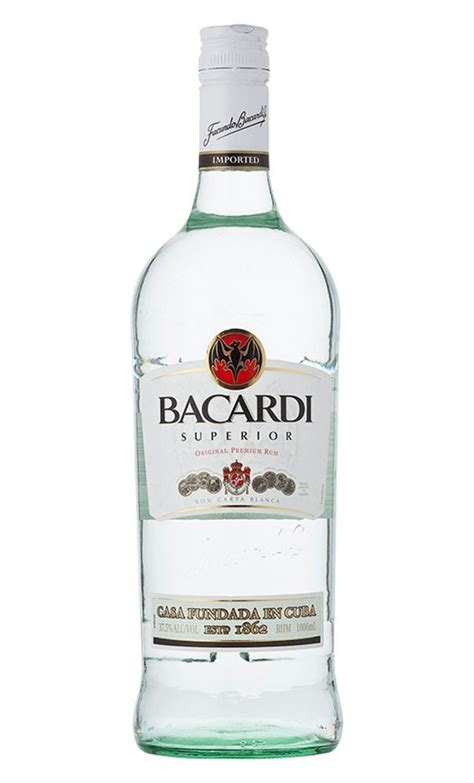 Code Bacardi Bottle White bacardi superior white rum 1 litre 37 5 bacardi 1000ml