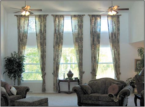home design curtains windows curtain ideas for living room 3 windows curtains home