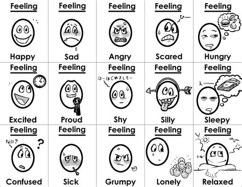 Free Coloring Pages Of Emotion And Feeling Emotions Coloring Page