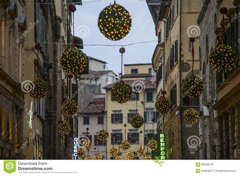 florence tuscany italy europe christmas decorations