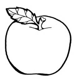 fruit templates the delicious fruit apple coloring page colouring