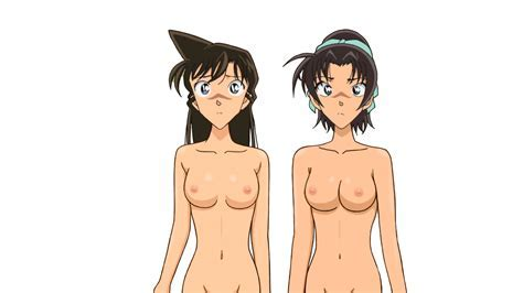 Ran Mouri And Her Gf Don T Understand Why It S So Dark Around And Why They Are Both Bare