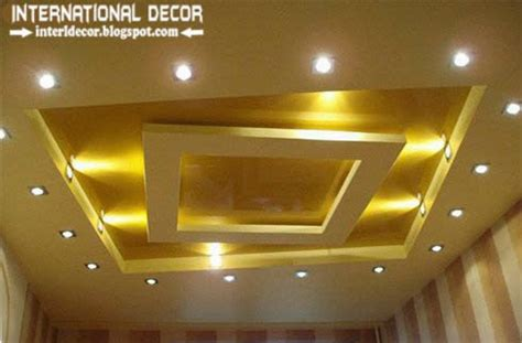 15 Best false ceiling designs of plasterboard with lighting