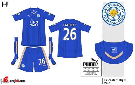 Leicester City 3rd 1 kit design by eroj 2015 16 leicester city home away e