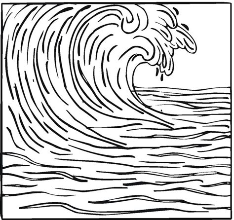 coloring page waves 17 best images about tsunami on lesson plans