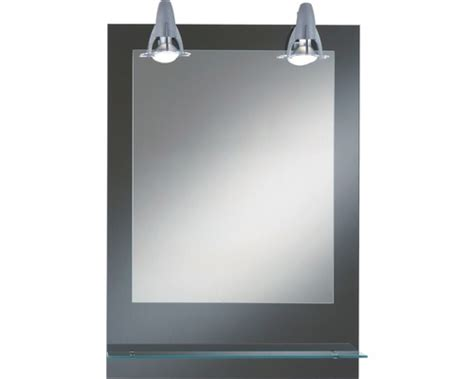 vergrößerungsspiegel mit beleuchtung lichtspiegel kristall form 50x70 cm mit beleuchtung