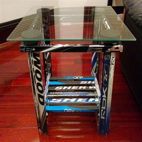 Cabinet Plans end table hockey stick builds