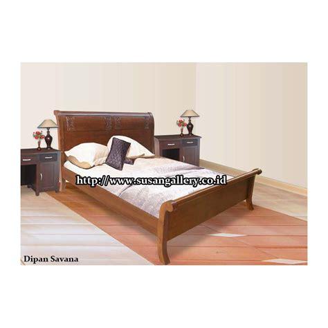 Dipan Ukir Jati Tempat Tidur Jati dipan savana ukir