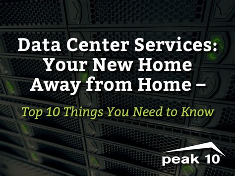 things you need for new house data center 10 things you need to know