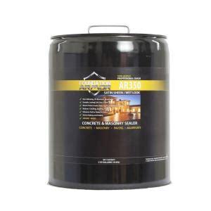foundation armor 5 gal solvent based acrylic look