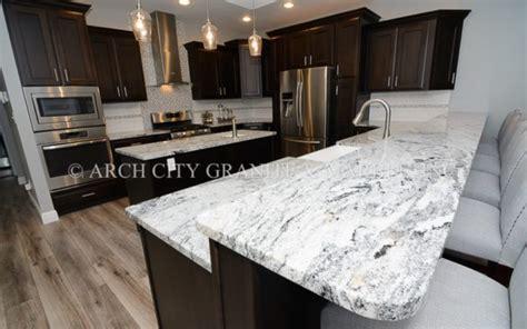 White Silver Granite Countertop by Silver Cloud Granite Granite Countertop Profile
