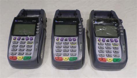 omni vx lot of 3 verifone vx570 omni 5700 m257 050 02 naa credit
