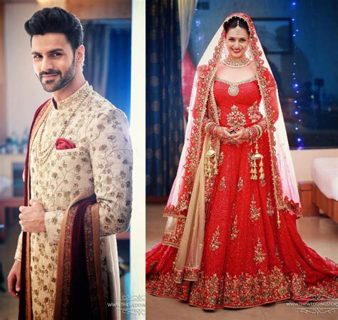 vivek dahiya sherwani divyanka tripathi and vivek dahiya wedding photos desiblitz