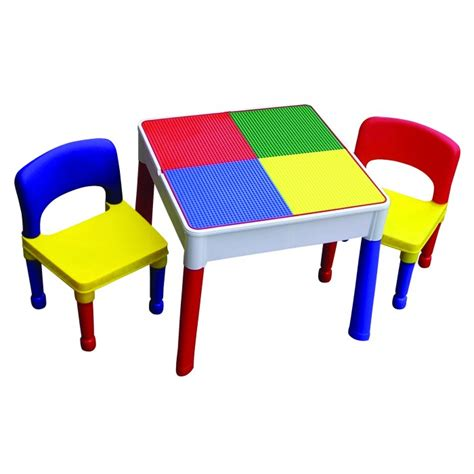Lego Table And Chairs by Sqaure 2 In 1 Construction Lego Play Storage Table