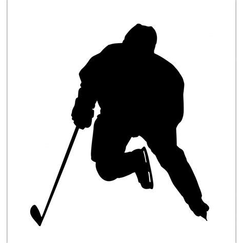 hockey wall stickers wall sticker hockey player decal