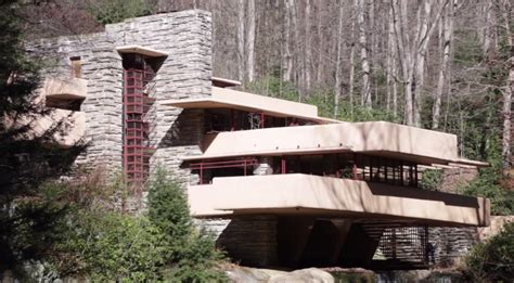 lloyd wright architecture fallingwater by architect frank lloyd wright mill run