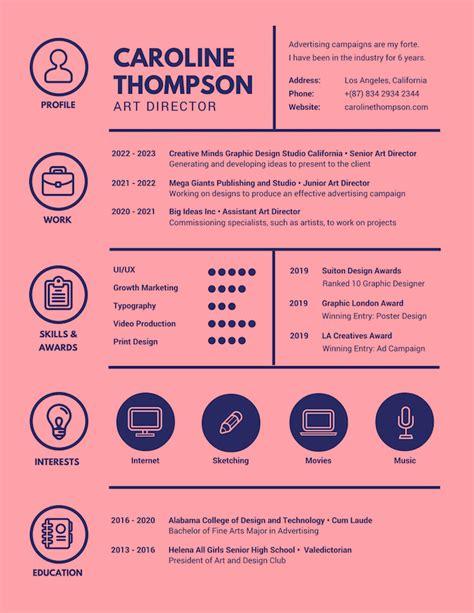 graphic design resume maker resultado de imagen para graphic designer cv publishing