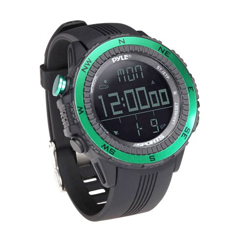 new pyle pswwm82gn sports with altimeter barometer