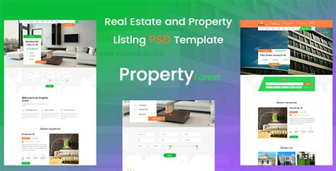 real estate and property listing template jogjafile