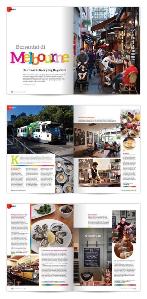 yearbook design indonesia magazine layout travel3sixty indonesia portfolios