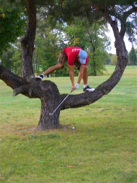 funny golf swings who says golfers aren t athletes 12 pics