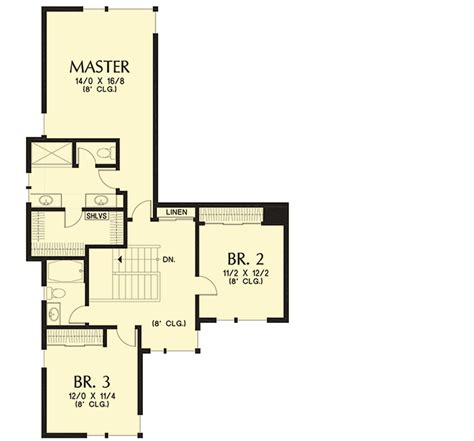 master up floor plans master up modern 69644am architectural designs house plans