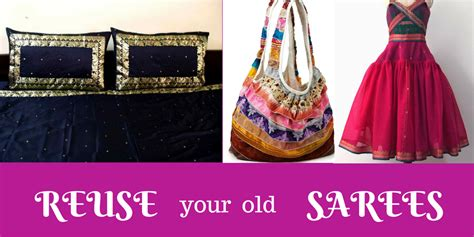 15 Interesting Methods To Reuse Old Sarees   Lifestyle, Fashion and Make up Blogs in India