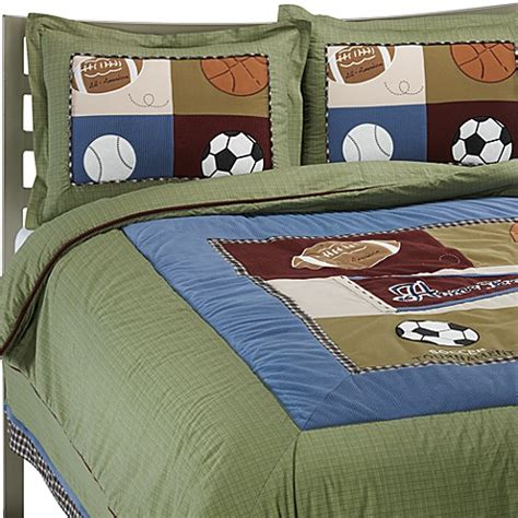 Cocalo Sports Fan Crib Bedding Cocalo Baby 174 Sports Fan Bed Skirt From Buy Buy Baby
