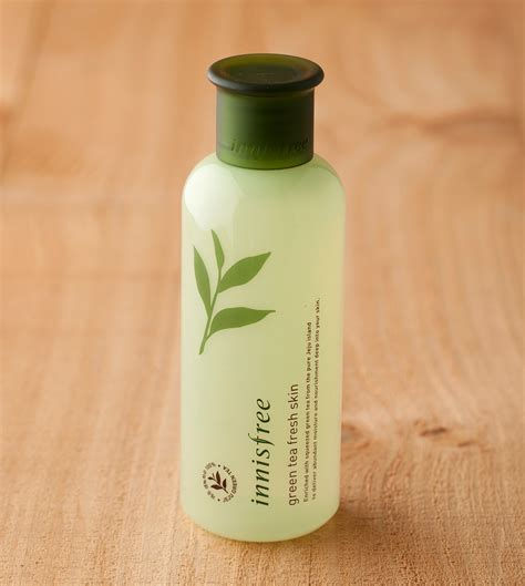 Innisfree Green Tea Fresh Skin skin care green tea fresh skin innisfree