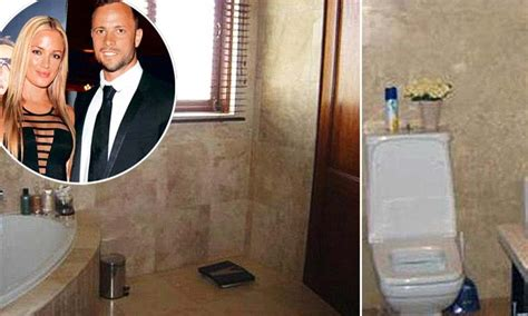 pistorius bathroom oscar pistorius inside the bathroom where blade runner